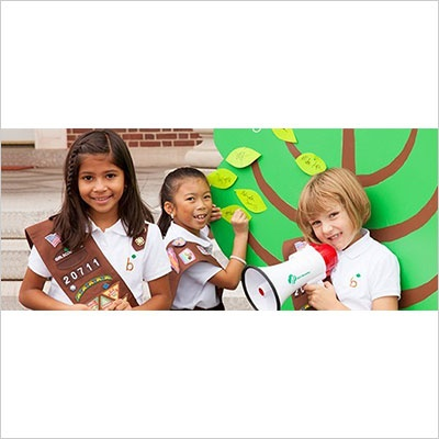 Smiling School Girls - Executive Enterprise Giving Back to great causes - Direct Marketing and Sales Firm